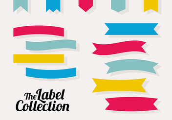 Free Labels Vector Collection - vector gratuit #302723