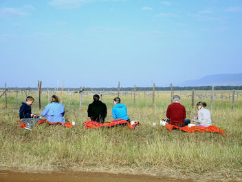 Kenya (Masai Mara) Lunch time before starting safari - бесплатный image #302753