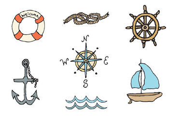 Free Nautical Vector Series - бесплатный vector #303013