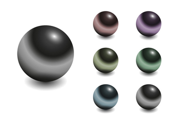 Free Chrome Sphere Vector - vector gratuit #303073