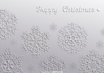 Snowflakes wallpaper - vector gratuit #303153