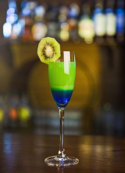 Green-blue cocktail - image gratuit #303213