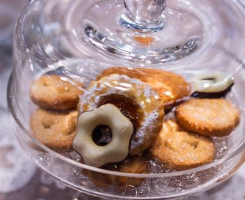 Cookies in glass jar - Free image #303243