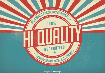 Vintage Hi Quality Illustration - Free vector #303423