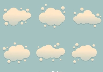 Dust Cloud Vectors - Free vector #303543