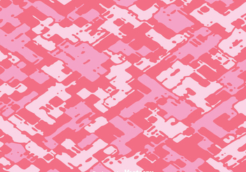 Diagonal Abstract Pink Camo Vector - vector gratuit #303673