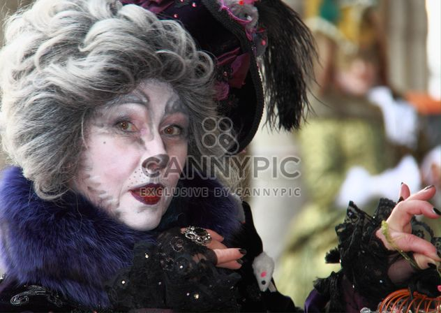 Masken Zauber, Hamburg, the cat carnival costume - Free image #304043