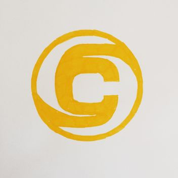 Yellow drawing of Clashot logo - бесплатный image #304073