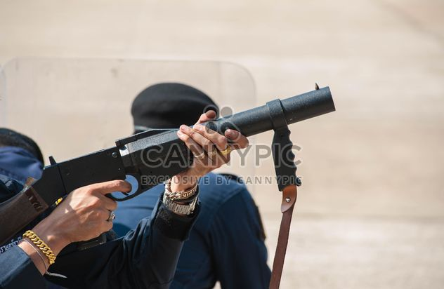 Police training rifle - Free image #304603