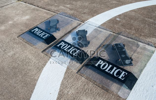 Police shields - Kostenloses image #304683