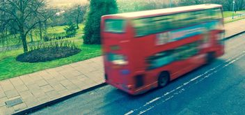 A London route master red bus - image gratuit #304763