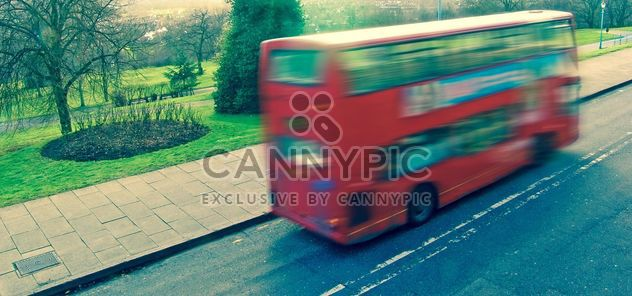 A London route master red bus - image #304763 gratis
