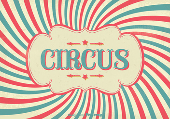 Vintage Circus Poster - Free vector #304923