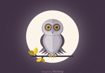 Free Barn Owl Vector Wallpaper - бесплатный vector #305493