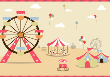 County Fair Free Vector - Free vector #305793