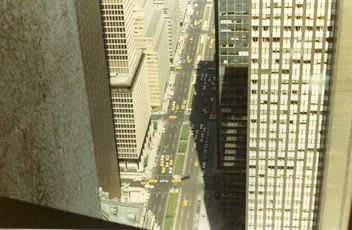 New York City from the top of the Pan-Am building, 1967 - image #307863 gratis