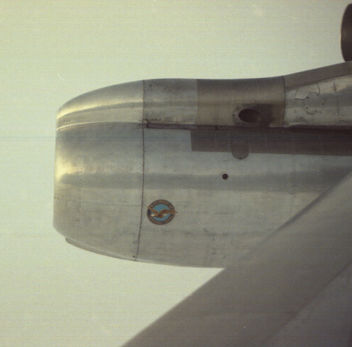 Pan-Am flight from New York to London, 1967 - image #307963 gratis