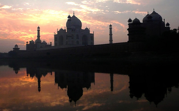Winter Sunrise at Taj (Explore) - image #308003 gratis