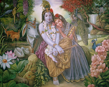 Radha Krishna - 36000+ views. - Free image #308063