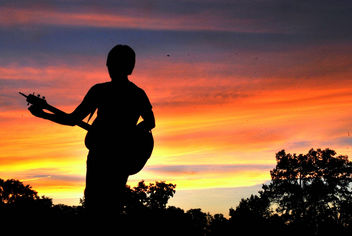 Sing a song to set the sun. - Kostenloses image #308723