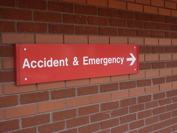 Accident & Emergency Sign - Kostenloses image #309283