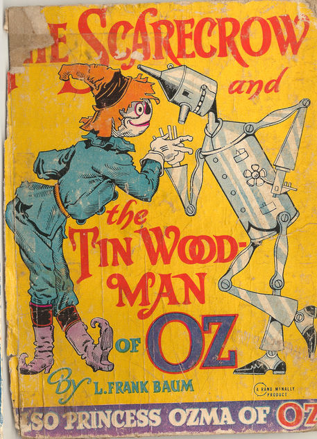 1914 Wizard of Oz Kids Book - Free image #311073