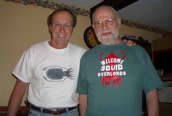 Dr. Oliver Sacks loves squid - Free image #313813