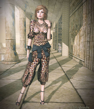 Fashionably Late - Orion - Body Suit-Leopard - Free image #314653