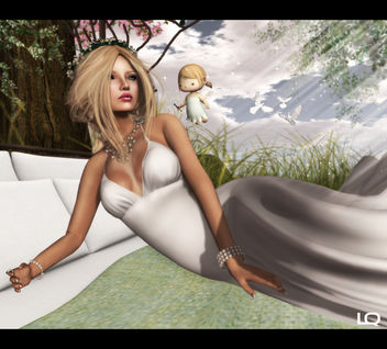 Baiastice_Arya Dress & Alouette - Forest Canopy Bed - 2 - image #315693 gratis