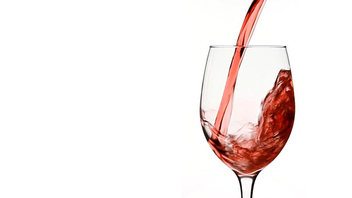 Pouring Red Wine in to Wine Glass - Free image #317313
