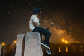 Me, Music & Milky Way - Free image #318853