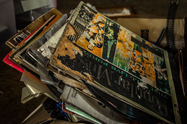 Box of Vinyl Records - Free image #319823
