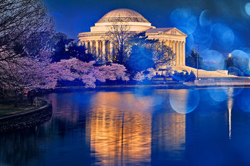 Bokeh Jefferson Memorial - image #324463 gratis