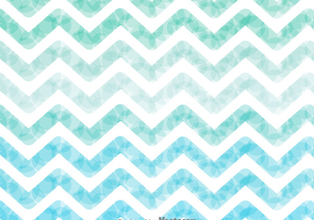 Watercolor Zig Zag Background Vector - vector #326693 gratis