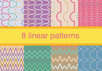 Set of Zig Zag Pattern - vector #326723 gratis