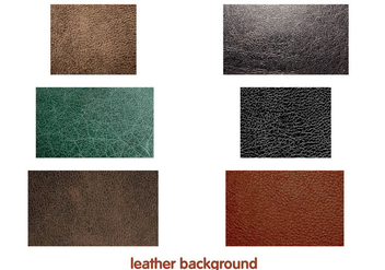 Leather background Vectors - vector #328003 gratis