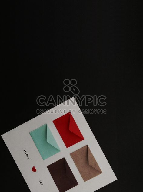 Postcard with colorful envelopes - Free image #328173