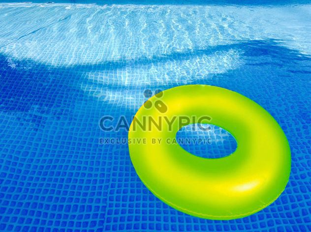 Rubber ring in swimming pool - Free image #328193