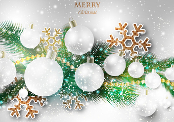 Free Merry Christmas Vector - бесплатный vector #328253