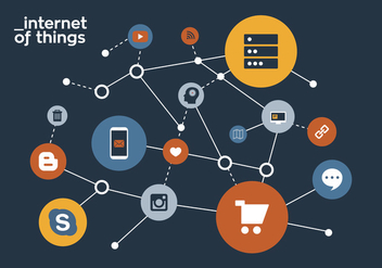 Vector Internet of Things - vector #328693 gratis