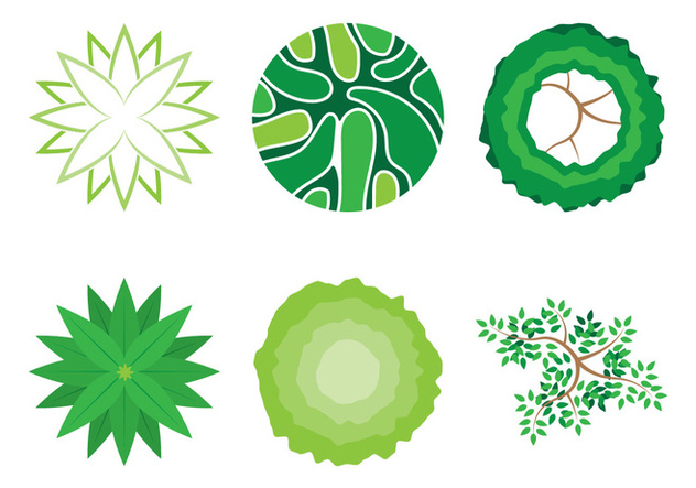 Landscape Plant Decoration - Free vector #328713