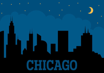 Chicago City - Kostenloses vector #329433