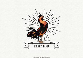 Free Early Bird Vector Logo - Free vector #330043