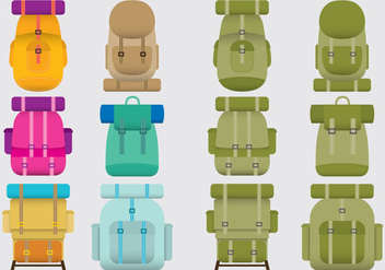 Boy Scout Backpacks - vector #330063 gratis