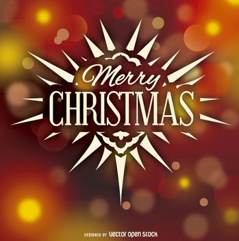 Merry Christmas Logo badge - Kostenloses vector #330193