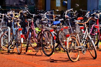 Bicycles on parking - Free image #330313