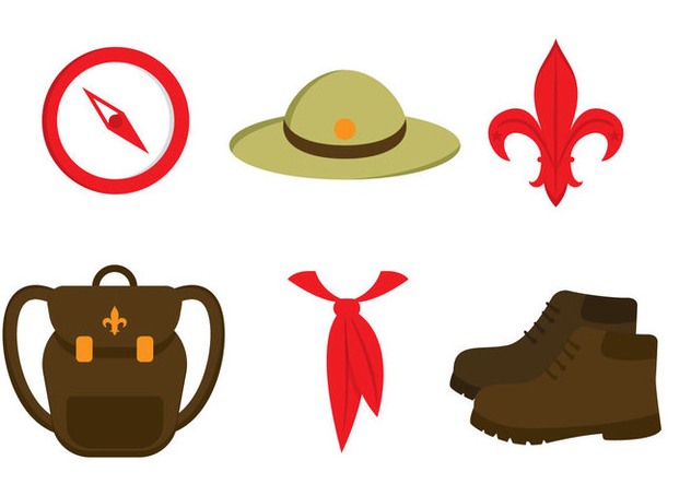 Boy Scout Vector Free Vector Download 330463 | CannyPic