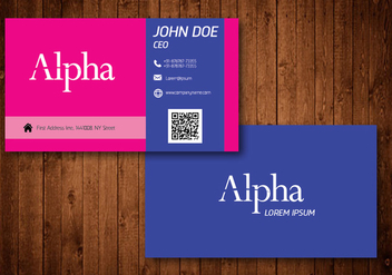 Creative Business Card - vector #330553 gratis