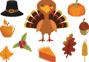 Free Thanksgiving Vectors - бесплатный vector #330613