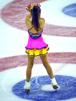 Ice skating dancer - image gratuit #330933